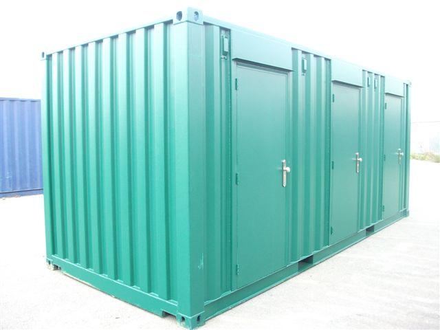 Storage Container Conversion