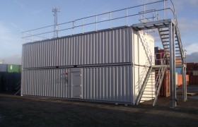 Cellafied Storage Container Fire Training centre